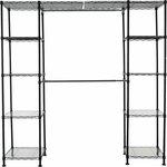 AmazonBasics Expandable Metal Storage Closet