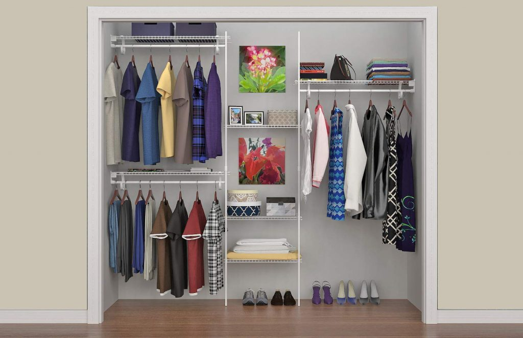An example of a ventilated storage close
