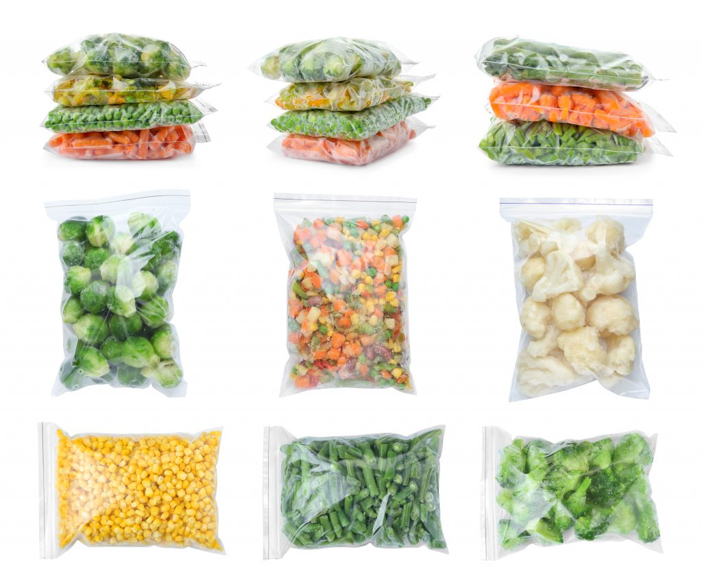 Plastic food storage bags